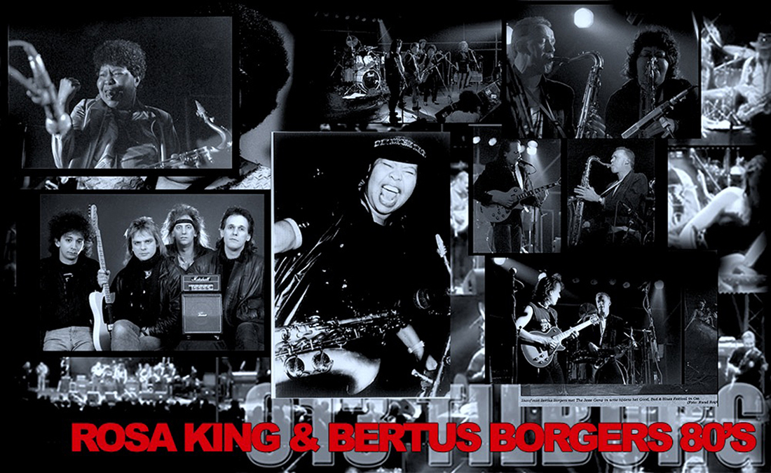 BERTUS BORGERS & ROSA KING Blues Rock Nederland