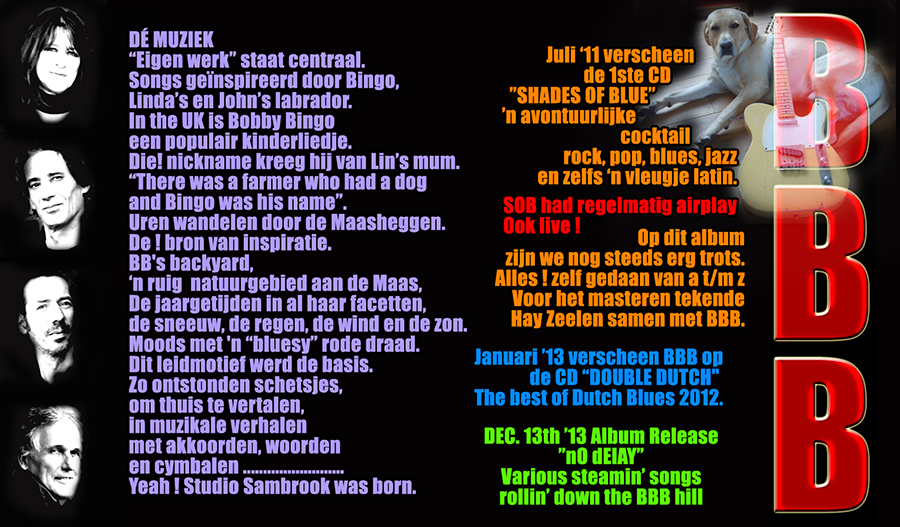 BBB BIO 2 Blues Rock Netherlands