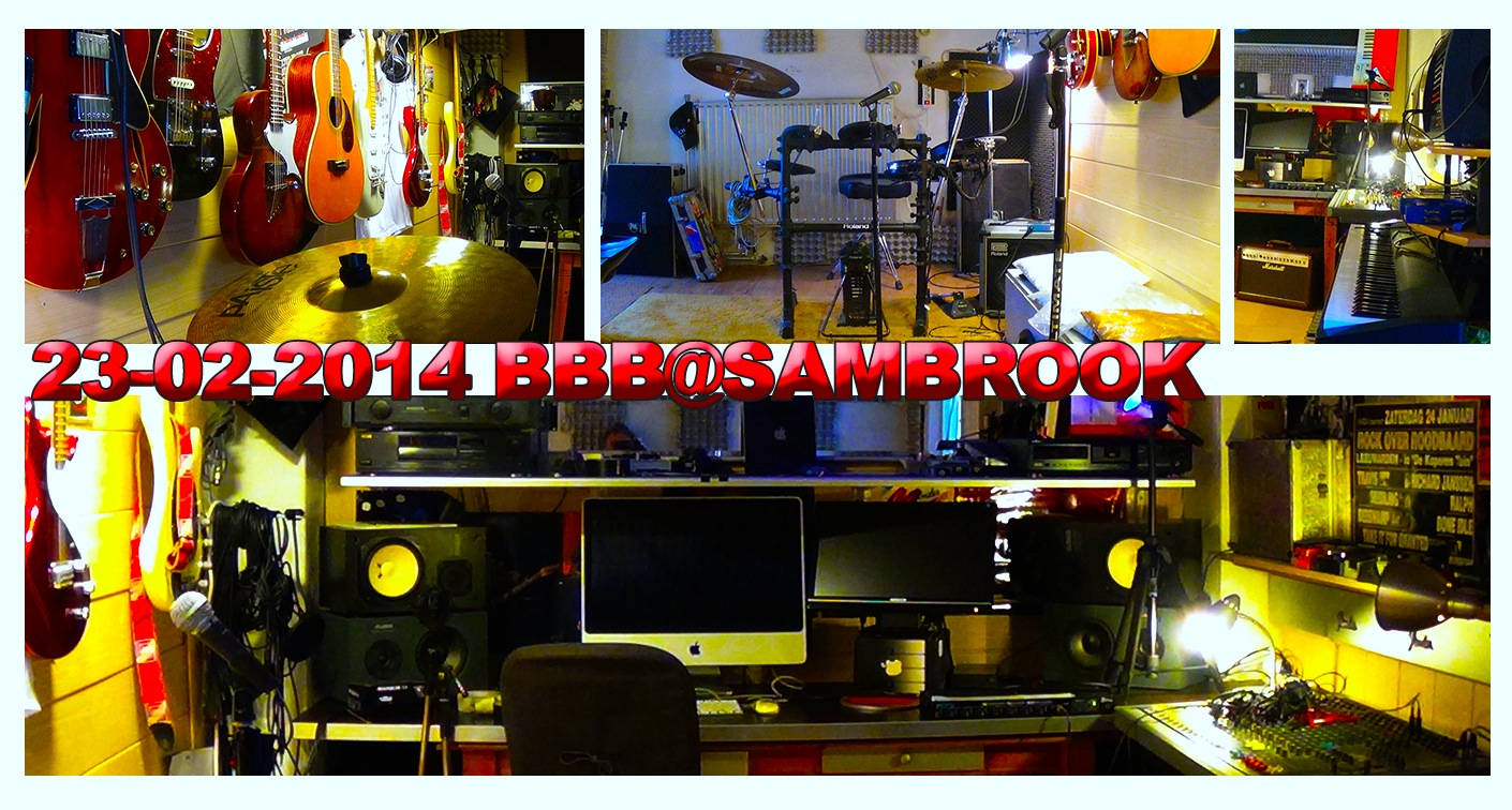 STUDIO SAMBROOK Blues Rock Nederland
